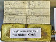 Legitimationsblatt